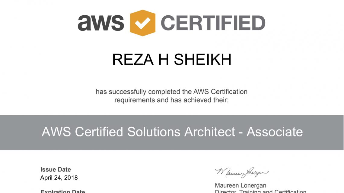 Amazon Web Services Certified Solutions Architect Exam: A Guide to Success!